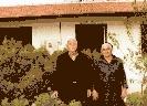Γεώργιος Πάκκου με τη σύζυγο του Δέσποινα στη Δρομολαξιά