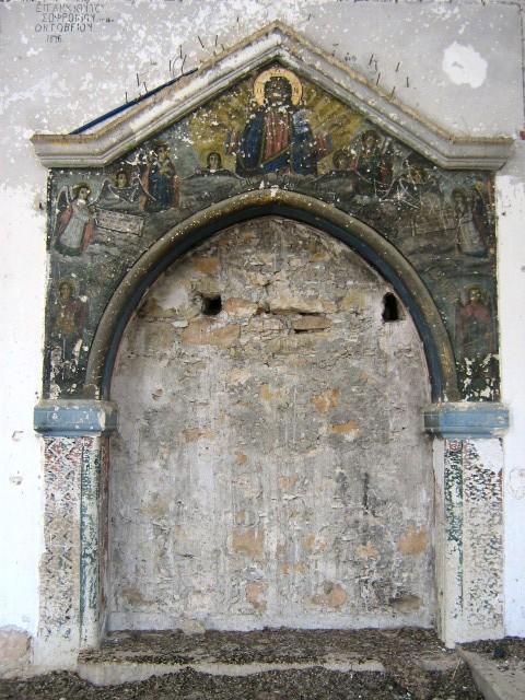 Τοιχογραφεία του Αγίου Γεωργίου Άσσιας